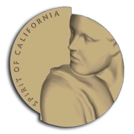 California Hall of Fame medal